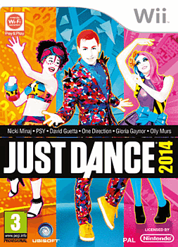 Just Dance 2014 Wii Cover Art
