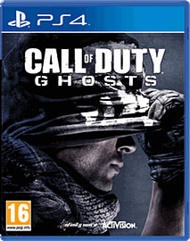 Call of Duty: Ghosts PlayStation 4 Cover Art