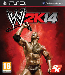 WWE 2k14 PlayStation 3 Cover Art