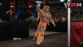 WWE 2k14 screen shot 4
