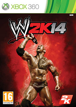 WWE 2k14 Xbox 360 Cover Art