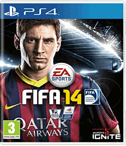 FIFA 14 PlayStation 4 Cover Art