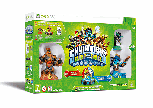 Skylanders SWAP Force review for Xbox 360, PlayStation 3, Wii, Wii U and 3DS at GAME
