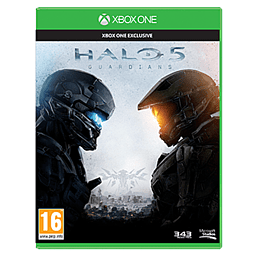 Halo 5 Guardians Xbox One Cover Art