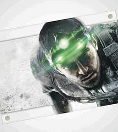 Splinter Cell: Blacklist A2 Acrylic Wall Art - Out of the Shadows Wall Art