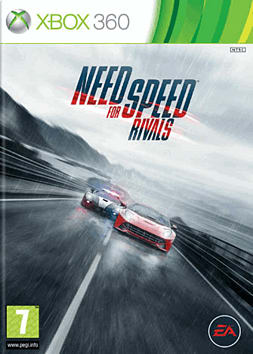 Need for Speed: Rivals Xbox 360 Cover Art