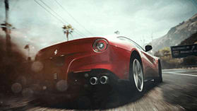 PS3 NFS RIVALS screen shot 1