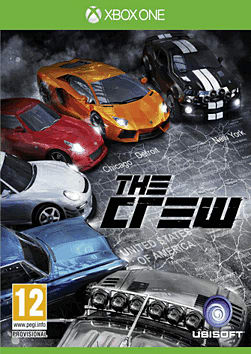 The Crew Xbox One Cover Art