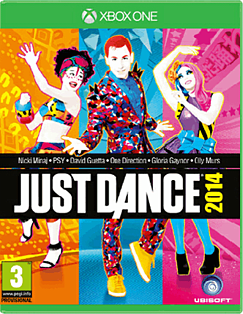 Just Dance 2014 Xbox One Cover Art
