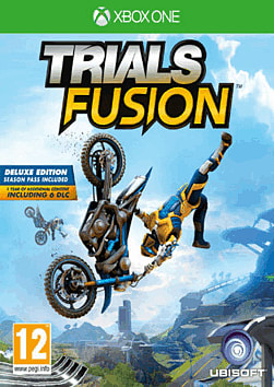 Trials Fusion Deluxe Edition Xbox One Cover Art