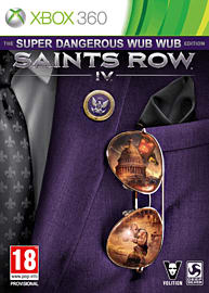 Saints Row IV: Super Dangerous Wub Wub Edition Xbox-360 Cover Art