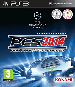 Pro Evolution Soccer 2014 PlayStation 3 Cover Art