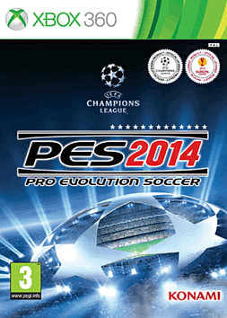 Pro Evolution Soccer 2014 Xbox 360 Cover Art