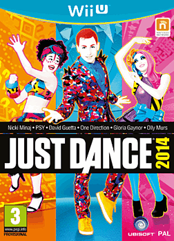 Just Dance 2014 Wii U Cover Art