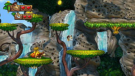 Donkey Kong Country: Tropical Freeze screen shot 2