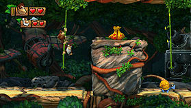 Donkey Kong Country: Tropical Freeze screen shot 3