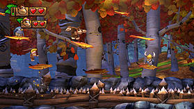 Donkey Kong Country: Tropical Freeze screen shot 5