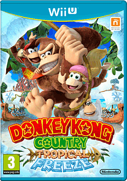 Donkey Kong Country: Tropical Freeze Wii U Cover Art