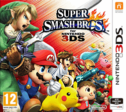 Super Smash Bros. 3DS Cover Art