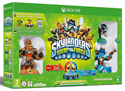 Skylanders SWAP Force Starter Pack Xbox One Cover Art