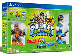 Skylanders SWAP Force Starter Pack PlayStation 4 Cover Art