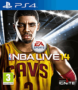 NBA Live 14 PlayStation 4 Cover Art