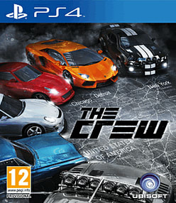 The Crew PlayStation 4 Cover Art
