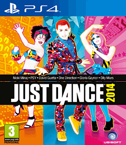 Just Dance 2014 PlayStation 4 Cover Art