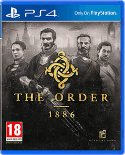 The Order 1886 PlayStation 4 Cover Art