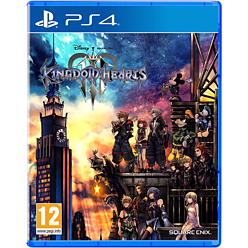 Kingdom Hearts III PlayStation 4 Cover Art