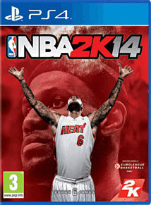 NBA 2k14 PlayStation 4 Cover Art