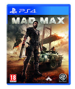 Mad Max PlayStation 4 Cover Art