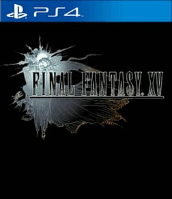 Final Fantasy XV PlayStation 4 Cover Art
