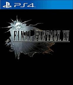 Final Fantasy XV PlayStation 4 Cover Art