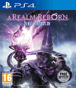 Final Fantasy XIV: A Realm Reborn PlayStation 4 Cover Art