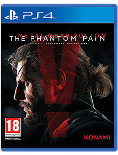 Metal Gear Solid V: The Phantom Pain PlayStation 4