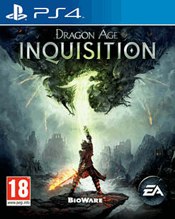 Dragon Age: Inquisition PlayStation 4 Cover Art