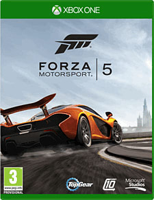 Forza Motorsport 5 Xbox One Cover Art