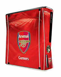 Arsenal FC Skin for Xbox 360 Console Accessories