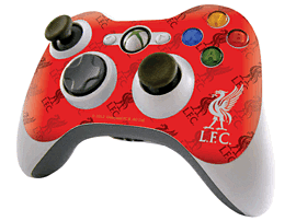 Liverpool FC Skin for Xbox 360 Controller Accessories