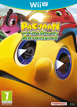 Pac-Man and the Ghostly Adventures Wii U Cover Art