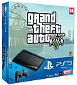 PlayStation 3 500GB Slim with Grand Theft Auto V PlayStation 3
