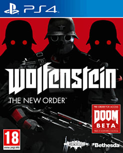 Wolfenstein: The New Order PlayStation 4 Cover Art