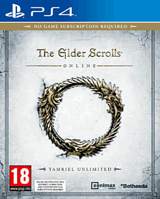 The Elder Scrolls Online PlayStation 4 Cover Art