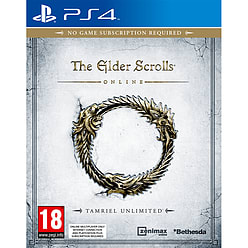 The Elder Scrolls Online: Tamriel Unlimited PlayStation 4 Cover Art