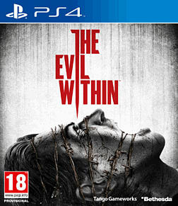 The Evil Within PlayStation 4 Cover Art