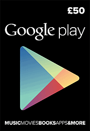 Google Play £50 Gifts