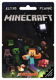 Minecraft Download Card - £17.95 Gifts Cover Art