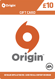 EA Origin Credit £10.00 Gifts