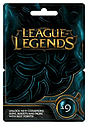 League of Legends £9 Game Card Gifts
